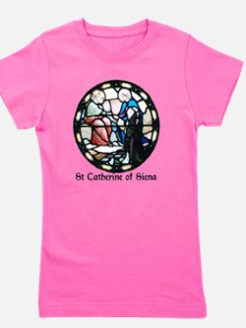 St Catherine of Siena Girl's Tee