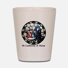 St Catherine of Siena Shot Glass