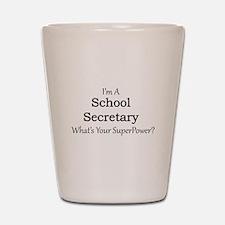 School Secretary Shot Glass