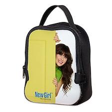 New Girl Life is Better Neoprene Lunch Bag