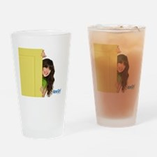 New Girl Life is Better Drinking Glass