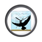 Pigeon Fly Home Wall Clock