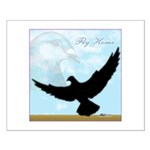 Pigeon Fly Home Small Poster