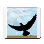 Pigeon Fly Home Mousepad