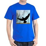 Pigeon Fly Home Dark T-Shirt