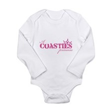 Funny Coastie Long Sleeve Infant Bodysuit