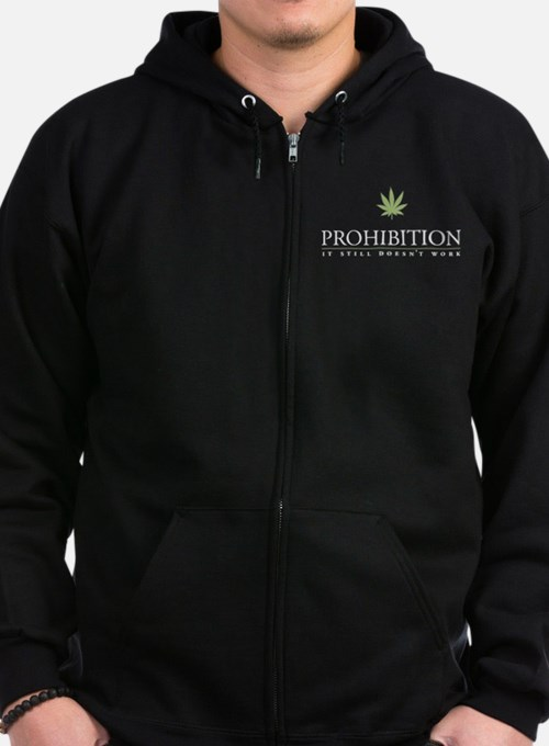 Cute Legalize Zip Hoody