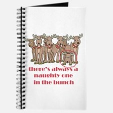 Naughty Reindeer Journal