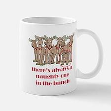 Naughty Reindeer Mug