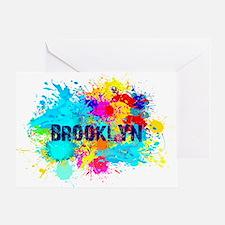 BROOKLUN NY SPLASH Greeting Card