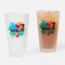 BROOKLUN NY SPLASH Drinking Glass