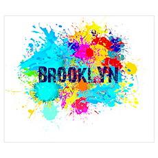 BROOKLUN NY SPLASH Poster