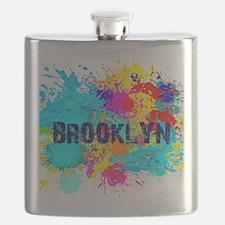 BROOKLUN NY SPLASH Flask