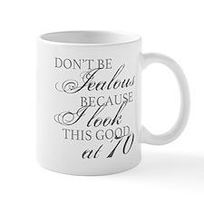 Look Good 70th Birthday Mugs