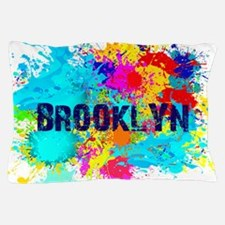 BROOKLUN NY SPLASH Pillow Case