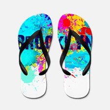 BROOKLUN NY SPLASH Flip Flops