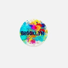 BROOKLUN NY SPLASH Mini Button