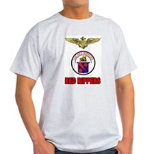 US NAVY VF-11 RED RIPPERS Ash Grey T-Shirt