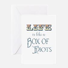 Box of Idiots Greeting Cards
