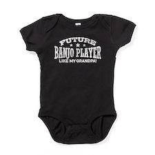 Future Banjo Player Like My Grandpa Baby Bodysuit