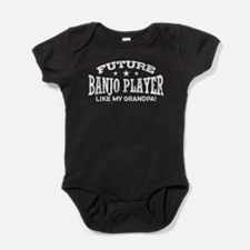 Future Banjo Player Like My Grandpa Baby Bodysuit