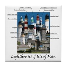 Isle Of Man Tile Coaster