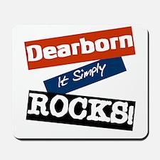 Dearborn Rocks Mousepad