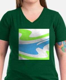 Blue Green Dons Favorit Women's Cap Sleeve T-Shirt