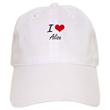 I Love Alisa artistic design Baseball Cap