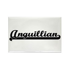 Anguillian Classic Retro Design Magnets
