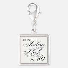 Look Good 80th Birthday Charms