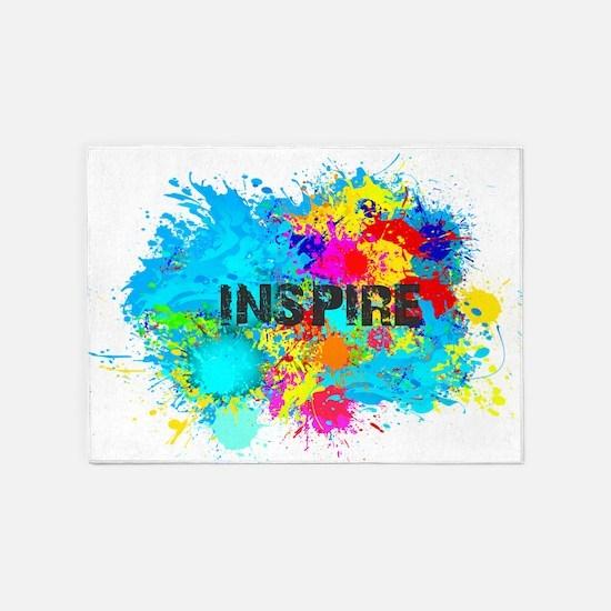 INSPIRE SPLASH 5'x7'Area Rug
