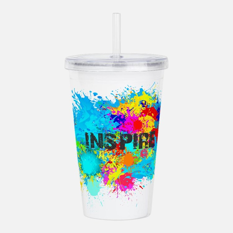 INSPIRE SPLASH Acrylic Double-wall Tumbler