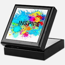 INSPIRE SPLASH Keepsake Box