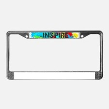INSPIRE SPLASH License Plate Frame
