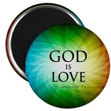 Love Is God Magnet