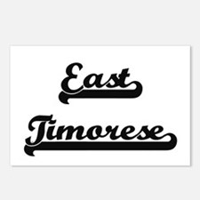East Timorese Classic Ret Postcards (Package of 8)