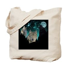 Wolves Twilight Tote Bag