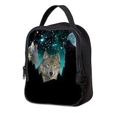 Wolves Twilight Neoprene Lunch Bag