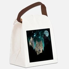 Wolves Twilight Canvas Lunch Bag