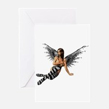 Emo.Angel Greeting Card