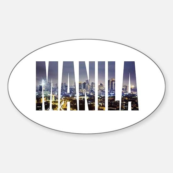 Manila Decal