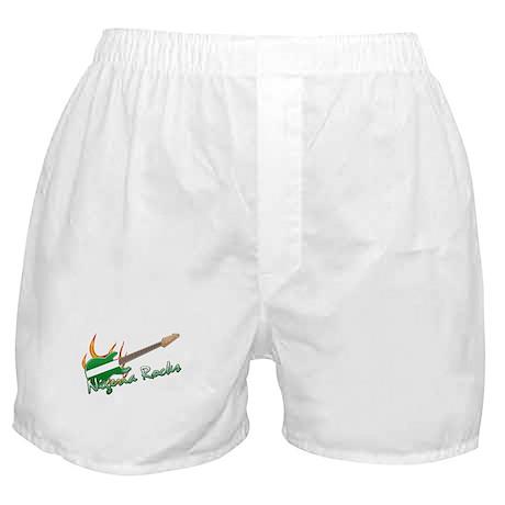 Nigeria rocks Boxer Shorts