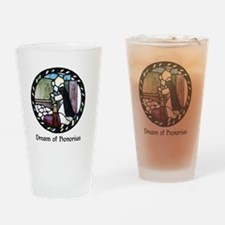 Dream of Honorius Drinking Glass