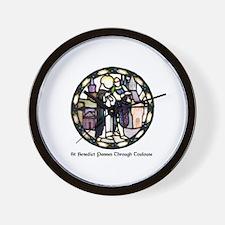 Cute Benedictine Wall Clock