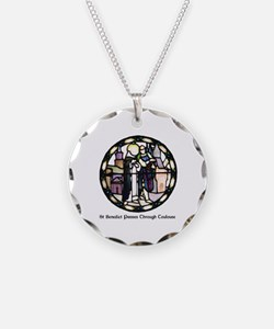 Unique Benedictine Necklace