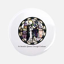 Cute Benedictines Button