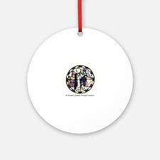 Cute Benedictine Round Ornament