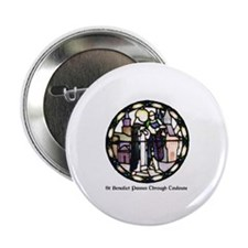 "Cute St. benedict 2.25"" Button"
