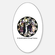 Cute Benedictine Sticker (Oval)